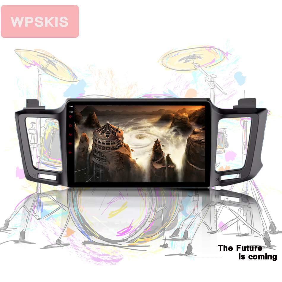 For Toyota RAV4 Rav 4 2013 2 din ips hd 1024 600 car gps navigation multimedia