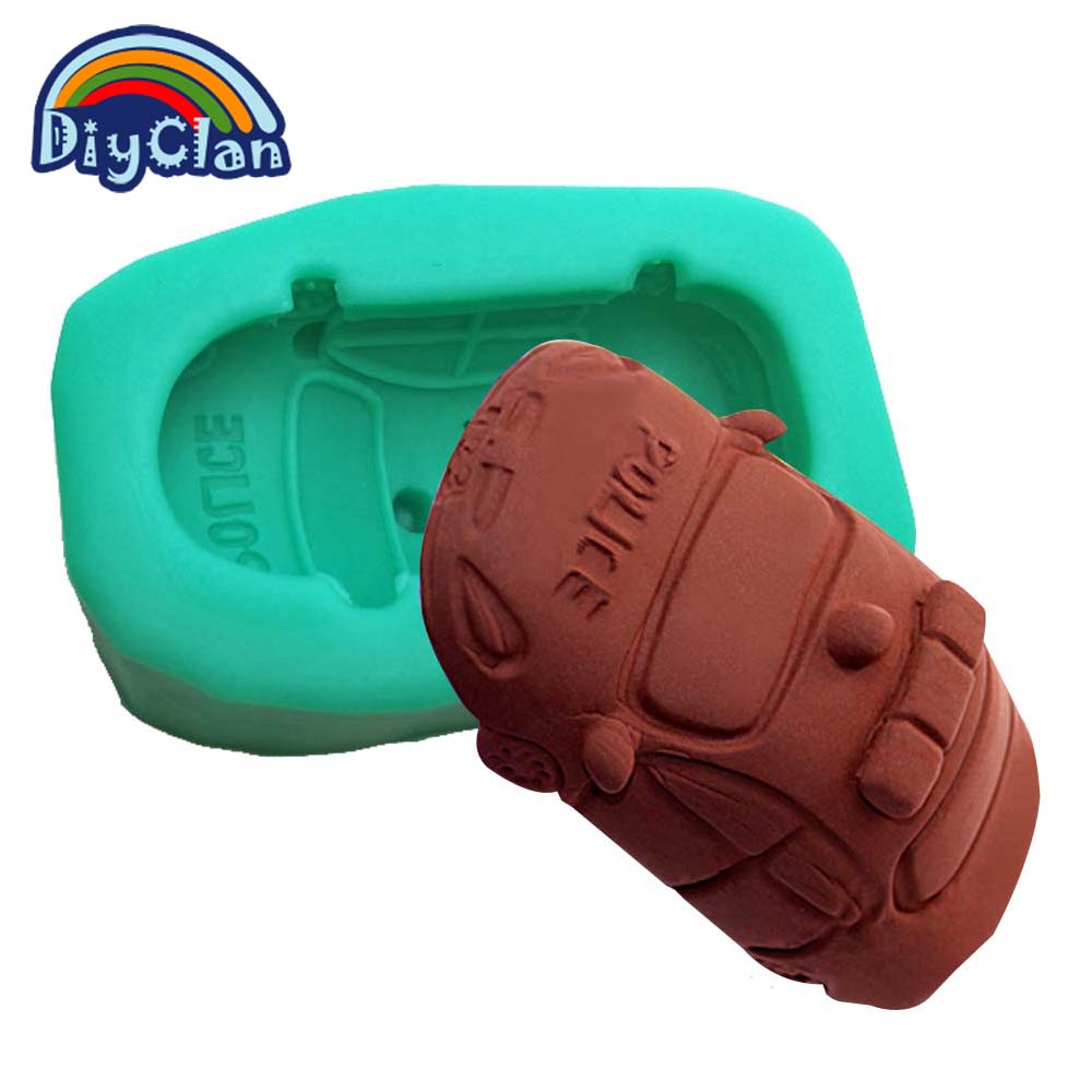 Əl istehsalı DIY silikon dekorativ avtomobil tökmə 3D polis - Mətbəx, yemək otağı və barı - Fotoqrafiya 2