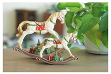 Decoration Accessories Miniature Figurine Small Vintage Childhood Memory Horse Resin Crafts Desktop Display