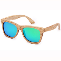 Nuevo 2016 Hombre Del Correo Del Paquete de Moda Restaurar Maneras Antiguas de Protección Del Medio Ambiente Natural De Bambú De Madera gafas de Sol Polarizadas