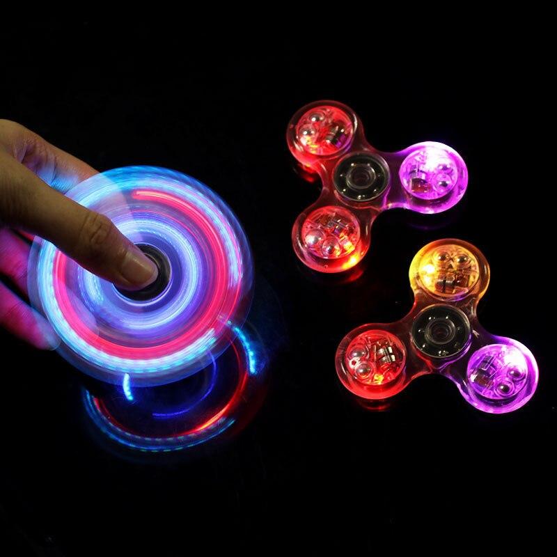 Andralyn Rainbow Fidget Spinner Hand Stress Finger Toys