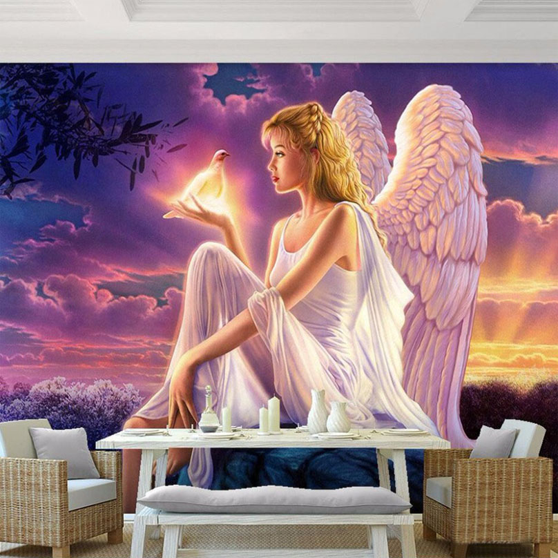 3D Wallpaper Fairy Tale World Fluorescent Photo Murals Living Room Kid's Room Interior Romantic Home Decor Modern Wall Painting