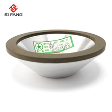 4inch 100mm Resin Bonded Flaring Cup Diamond Grinding Wheel For Carbide Metal 240 Grit 75%  100x32x20x10x3mm
