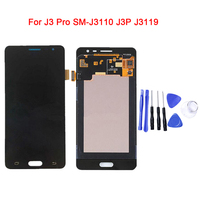 For Samsung Galaxy J3110 J3 Pro J3P LCD Display With Touch Screen Digitizer Assembly Can Not