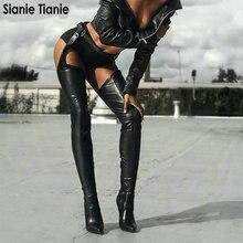 Sianie Tianie Rihanna Stile DELL UNITÀ di ELABORAZIONE di Scarpe Donna Sexy  Fibbia In Vita faa66077437