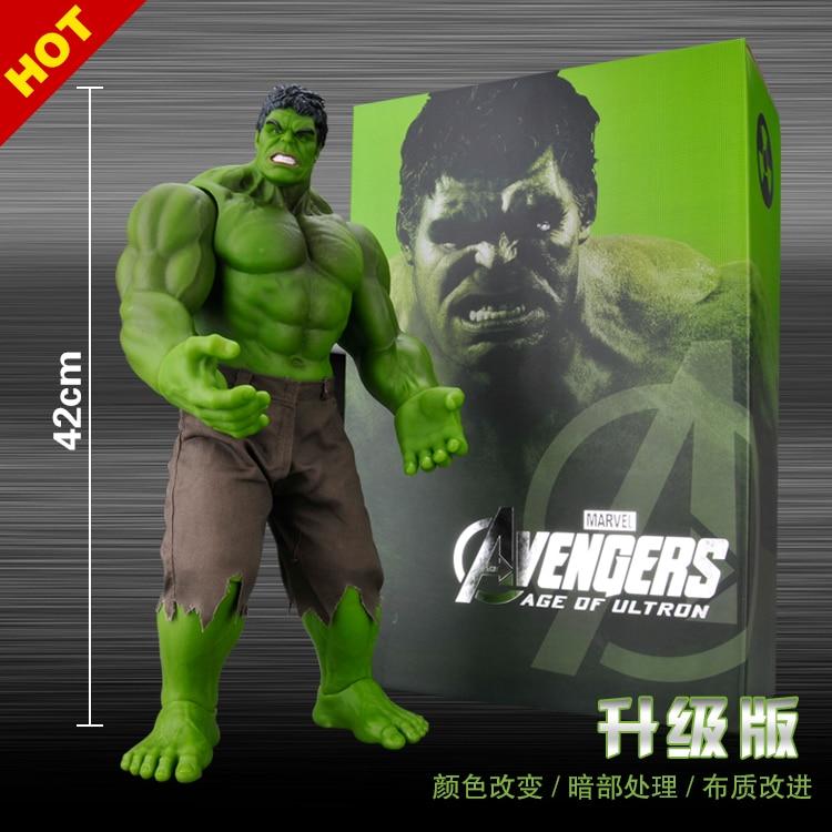 Manpower Invincible Hock HULK Iron Man Avenger Alliance Big Hulk Toy Animation Manual Model