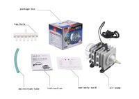 ACO 004 air pump 55w 60L/min electromagnetic air pump For fish or mini laser small machine