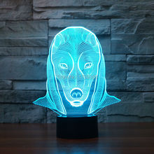 Color changing Flashing touch sensor control Egypt Pharaoh Acrylic 3D LED Night Light Pyramid Sphinx Jomy USB table Lamp