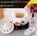 Adjustable Tempreture Time Switch Warmer Fragrance Powder Burner Electric Diffuser Ceramic Aromatherapy Essential Oil Censer