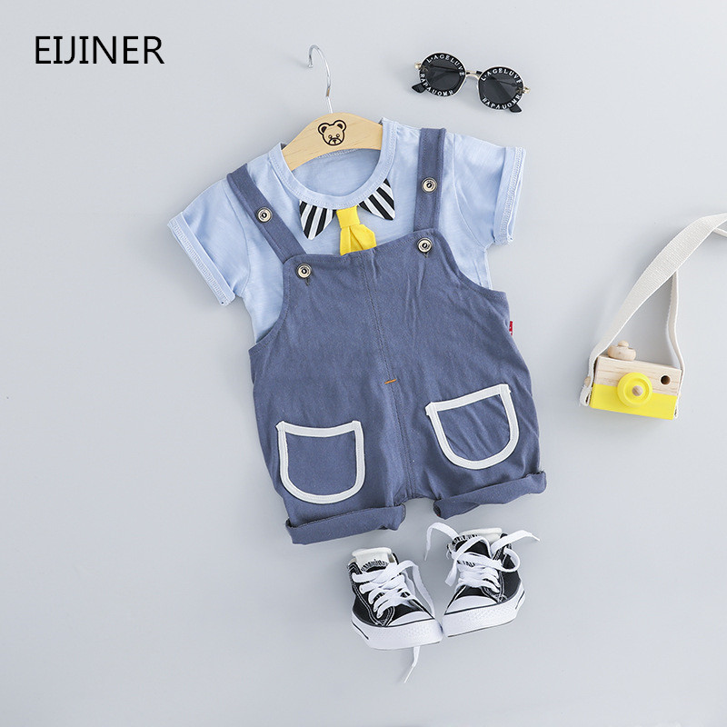 2 Pcs Kinder Sets Oansatz T-shirt Und Hosen Shorts Sommer Baby Jungen Mädchen Kleidung Set Casual Cartoon Baumwolle Kinder Junge Kleidung