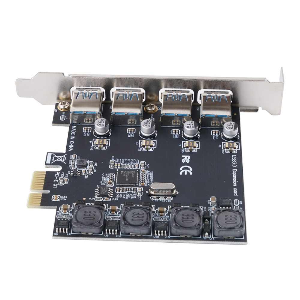 Карта контроллера ORICO, 4 порта SATA 6G PCI Express PCI-E к SATA III 3,0, конвертер для настольного компьютера