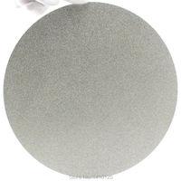 NO CENTER HOLE 8 Inch 200mm Grit 120 Medium Diamond Grinding Disc Abrasive Wheel Coated Flat
