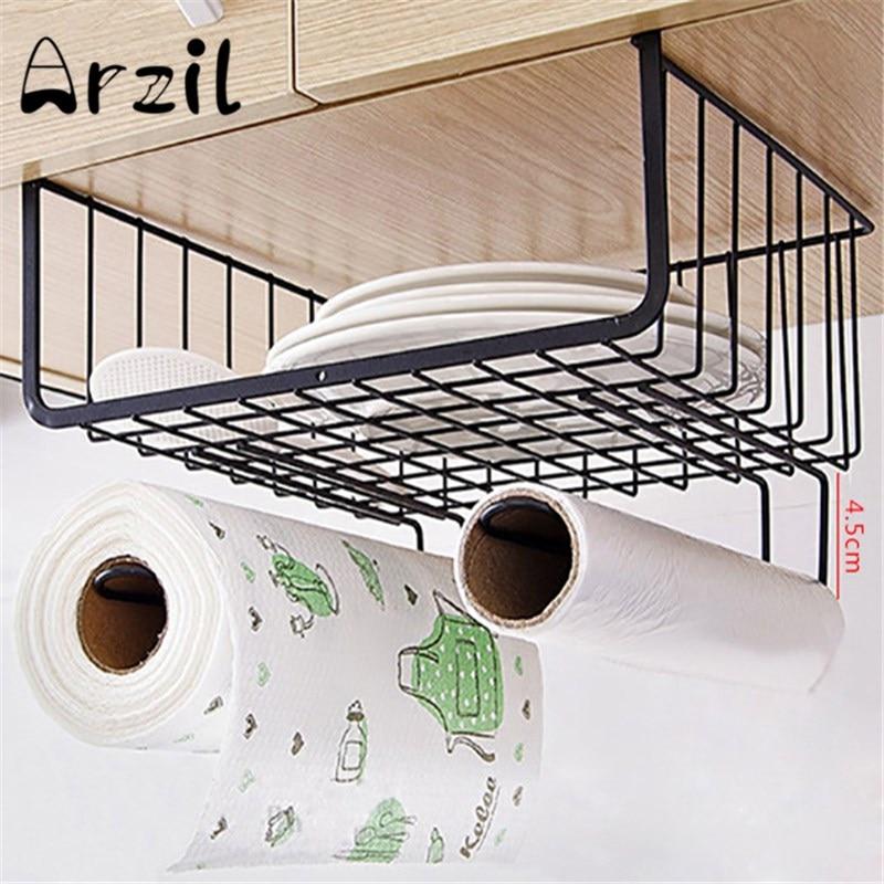 drawer broadside shelf rack sidewall towel tissue shelf crack storage rack multilayer kitchen