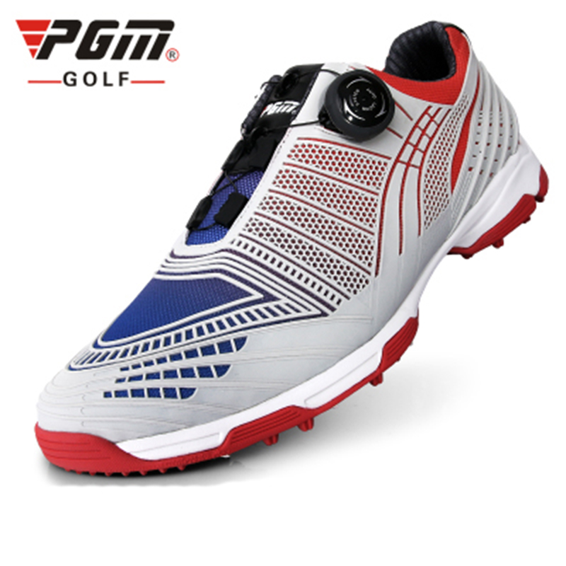 New PGM Golf Shoes Men S Knobs Buckle Shoes With Double Patent Shoes Sneakers