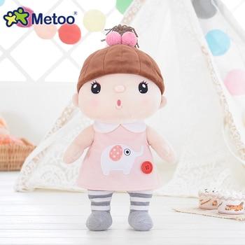Мягкая плюшевая мультяшная девочка Metoo 6