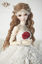 Bjd doll clothes as female romantic princess wedding dress cl3130510