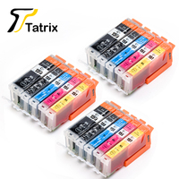 15PCS For Canon PGI 150 CLI 151 Ink Cartridge For Canon PIXMA MG6310/MG6410/MG5410/MG7110/IP7210/MX721
