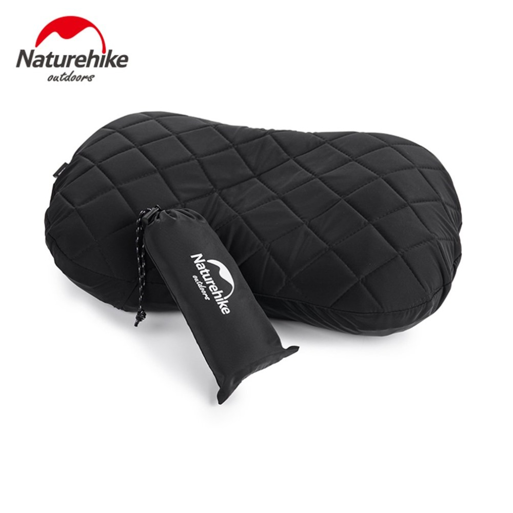 2018 Inflatable Camping Travel Pillow Thicken Warm Comfortable Pillow With Pillow Cover Dust proof Anti dirt Pillowcase-in Camping Mat from Sports & Entertainment