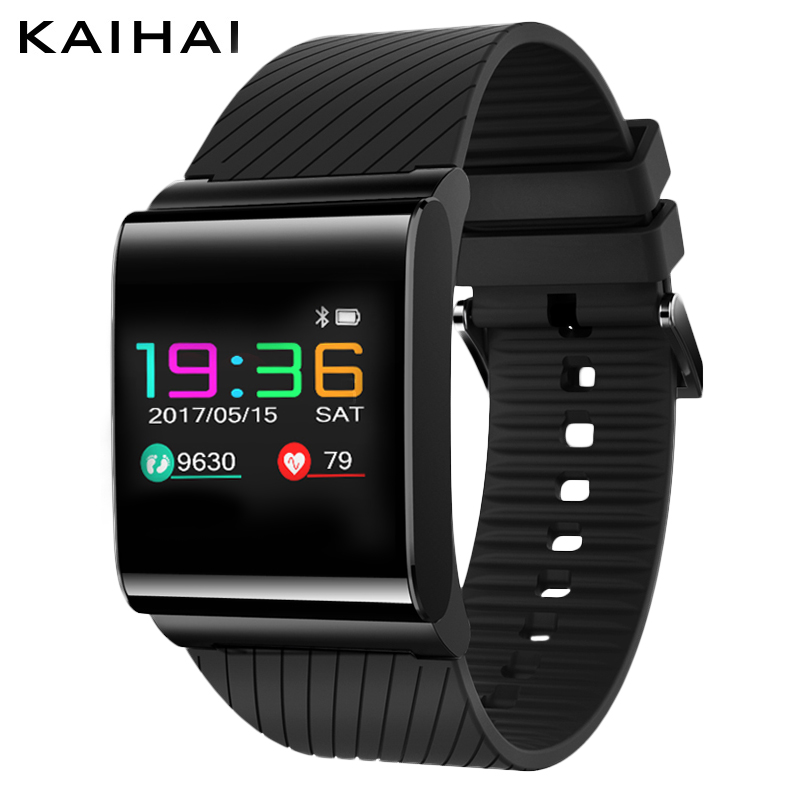 KAIHAI M7 colorful OLED screen sport smart band  heart rate Monitor blood pressure Pedometer Fitness Tracker for Android iphone