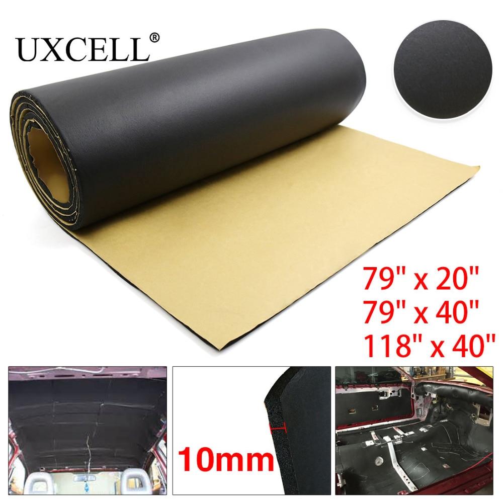 UXCELL 394mil 10mm Thick Rubber Foam 200cm 50 100cm 300cm 100cm Car Auto Tailgate Sound Insulation