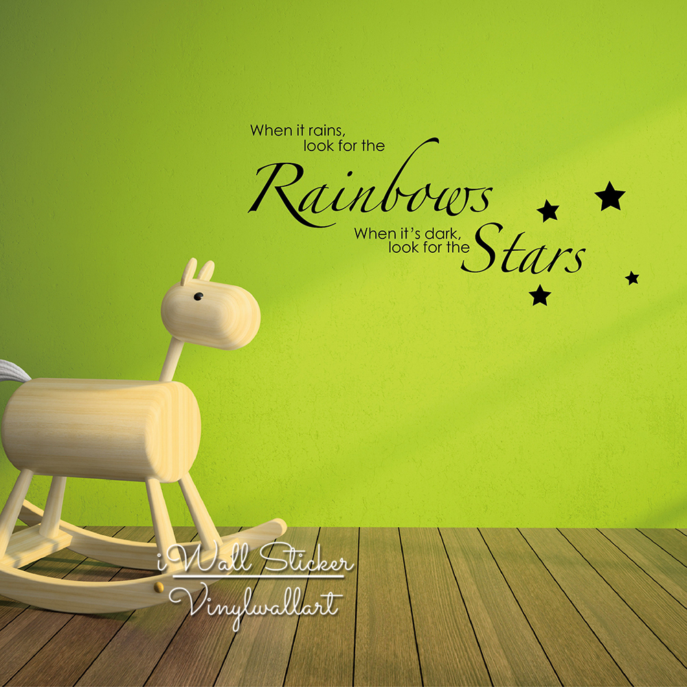 Baby Nursery Quote Wall Sticker