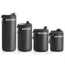 Neewer 4 Размеры DSLR камера линза для волочения сумка Обложка размеры Размеры s m l xl для sony/Canon/Nikon/Pentax/Olympus/Panasonic объектив