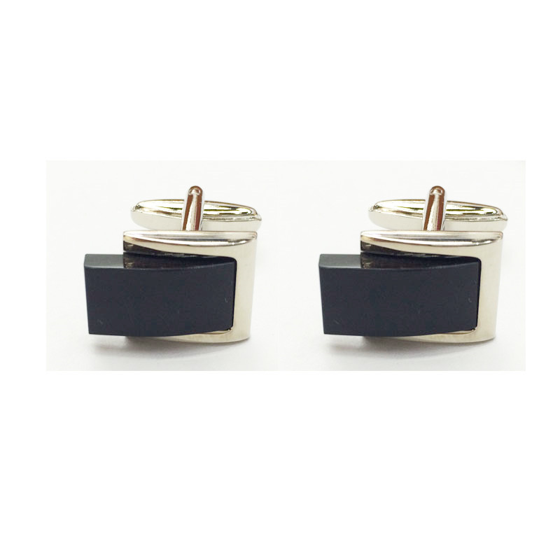 CH71 UJOY Black Cufflinks Mens accessories Father day gift Business Cuff Links hot sale