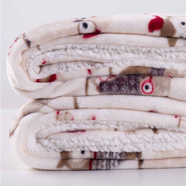 Winter Fleece Printed Blanket 5