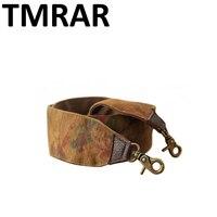 New 2017 Retro Printing Flower Design Linen Handbag Belt Trendy Design Bags Strap Bag Parts Bag
