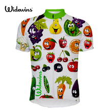 цена на Fruit vegetables Quick Dry Cycling Jersey Summer Men Mtb Bicycle Short Clothing Ropa Bicicleta Maillot Ciclismo Bike Clothes 572