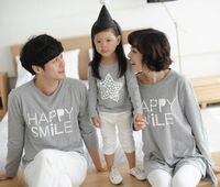 2014 Wholesale Oem 100 Combed Cottonlong Sleeve O Neck Loving Couple Family Matching T Shirts