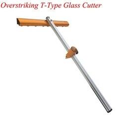 Szkła Push nóż typu T odważne ciężkich głowicy tnącej grube szkło o wysokiej precyzji rolki typu przeciągnij nóż do cięcia narzędzia do układania płytek głowy T-XING