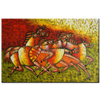 Hand Made New Designed Famous Oil Painting Picasso Modernism Wall Art Horse Animal Canvas Picture Modern