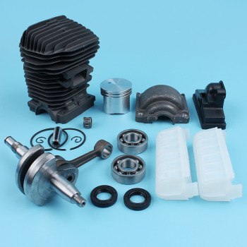 Stihl Ms250 Parts | 42.5mm Cylinder Piston Engine Pan Crankshaft Bearings Kit For STIHL 023 025 MS230 MS250 Chainsaw Needle Cage Oil Seals NEW Parts