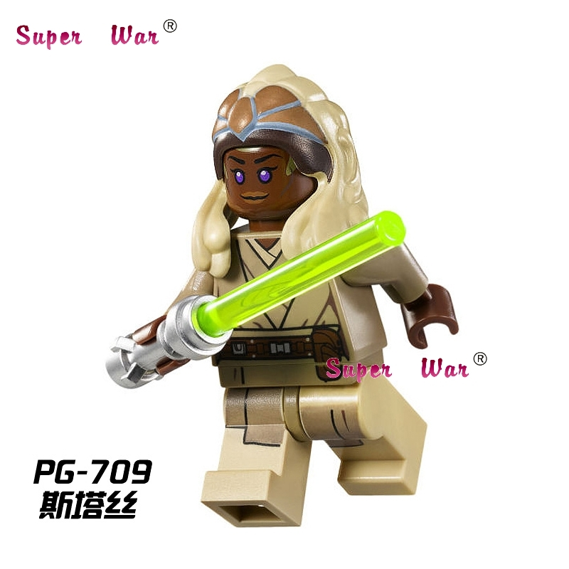 1PCS  Super Heroes Marvel Dc Comics  Stass Allie Building Blocks Models Bricks Toys For Children Kits