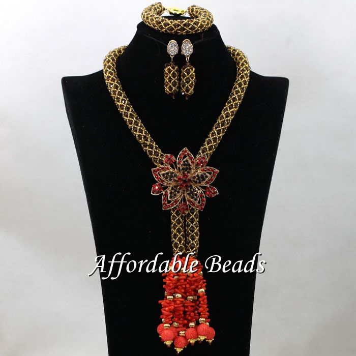 Latest Costume African Jewelry Sets Marvelous African Wedding Set New Arrival Style HEB130 the latest dubai african jewelry sets new arrival indian jewelry set wedding handmade design bn240