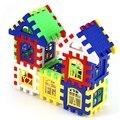 Дети DIY Дом Строительные Блоки Строительство Развитие Мозга Игрушки Просветить Кирпича Образования Diy детей Игрушки для Детей