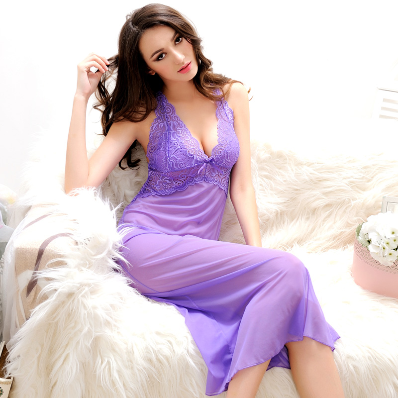 Aliexpress.com : Buy Summer Womens Nightdress With G String Thongs ...
