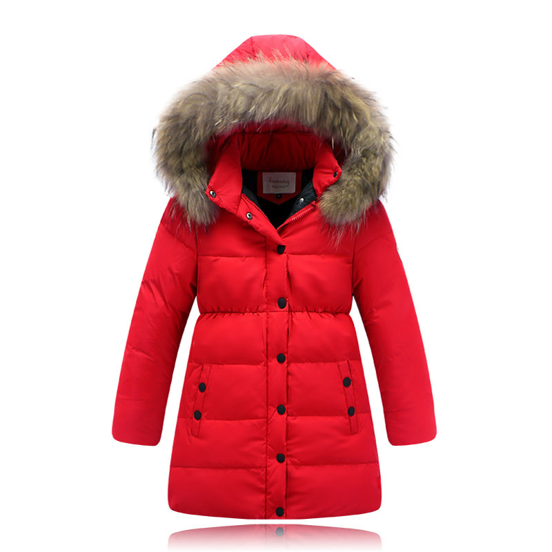 Girls Snow Coats Han Coats
