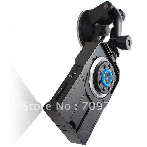 2.5Inch TFT HD 720P 140Degree Lens Vehicle DVR 8 LED Night Vision 30Fps Car Camera sample