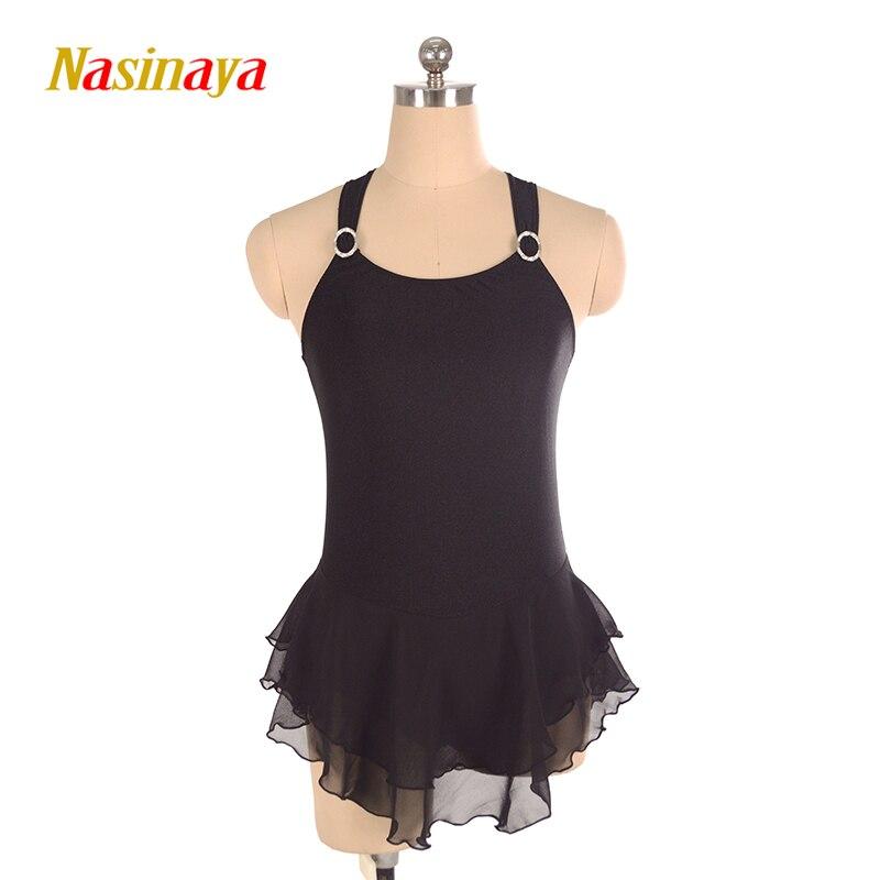 Nasinaya Patinage artistique Robe Personnalisé Concurrence Glace De Patinage Jupe pour Fille Femmes Enfants Patinaje Gymnastique Performance 229