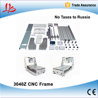 Free Ship To Russia NO TAX 3040Z CNC Frame With Ball Screw Engraving Machine Frame Lathe