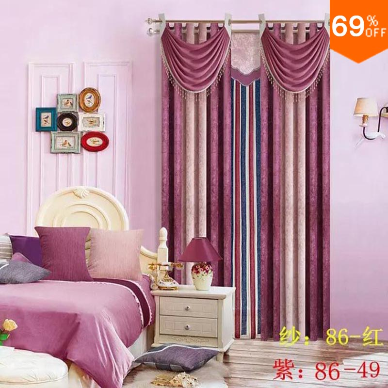 Purplish red line linellae claret list row maroon column for Diner style curtains