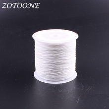 ZOTOONE 200Meters/Roll Embroidery Yarn For Machine DIY Apparel Sewing & Fabric Elastic Polyester Threads Set C