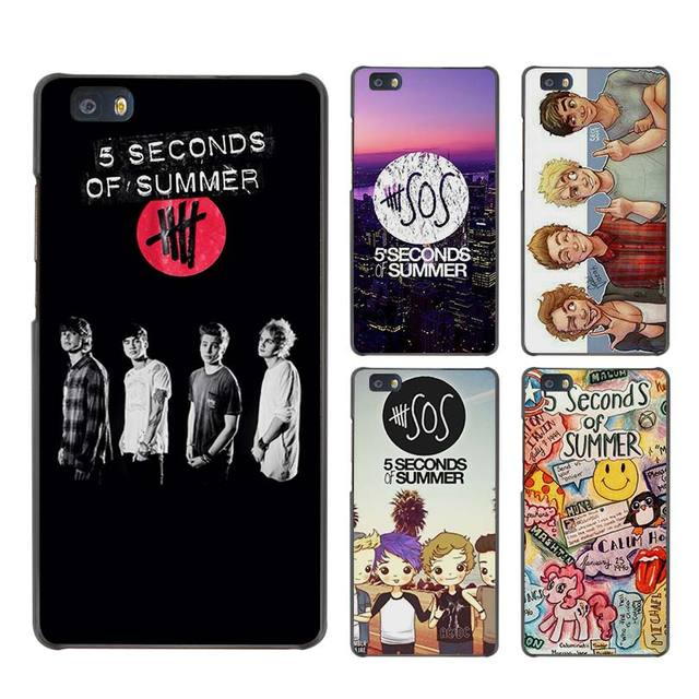 best sneakers 28a31 5763f Aliexpress.com : Buy 5 Seconds of Summer 5SOS Hard Case Black Cover Scrub  for Huawei P8 P9 Lite Plus P7 Mate S 7 8 9 from Reliable s 7 suppliers on  ...