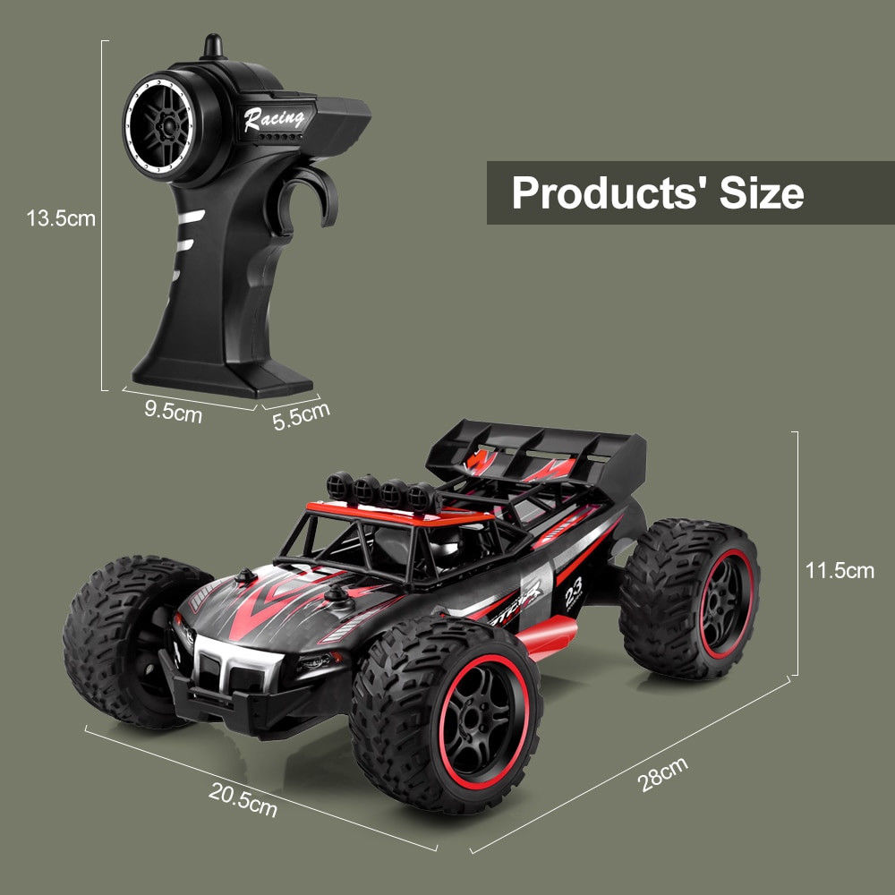 Remote Control Car High Speed Racing Battery Powered Electric RC Cars Gift Toys Rc Crawler Toys for Children