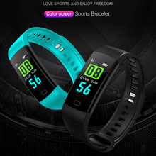 Y5 Smart Band Heart Rate Tracker Fitness band  Bracelet Waterproof Wristband Watch Men