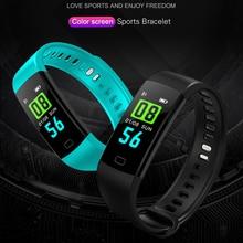 Y5 Smart Band Heart Rate Tracker Fitness band  Bracelet Waterproof Wristband Watch Men