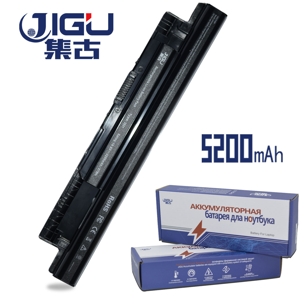 JIGU Laptop Battery For Dell Inspiron 15R 3521 N3521 5521 N5521 VR7HM V1YJ7 V8VNT PVJ7J G019Y MK1R0 9K1VP XCMRD