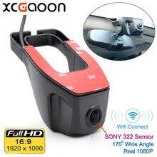 XCGaoon Wifi 170 gradi Dell'automobile DVR Video Recorder Videocamera del Precipitare Della Macchina Fotografica 1080 P Versione di Notte Novatek 96655 Utilizzare SONY 322 sensore
